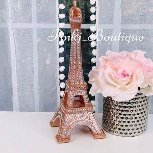 💗{PARIS} Eiffel Tower Rose Gold Bling Home Decor!